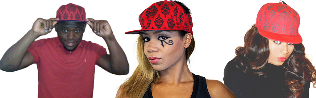 An original blend of the Moorish fez with modern street-wear hats
