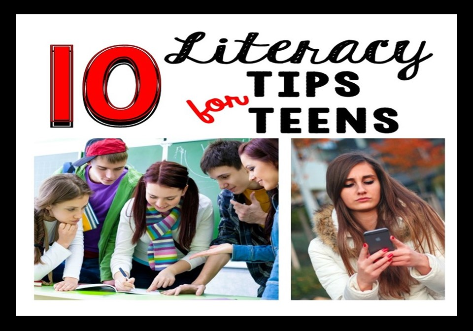 Even though literacy blogs typically target elementary and middle school students, some ideas work for high school students too. Check out this post to learn techniques you might try in your middle school or high school english class.