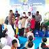 Warga Desa Pantai Hurip Terima Bantuan Sembako