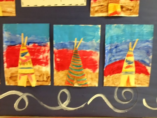 The Colorful Art Palette Week 13 Native American Indian Art