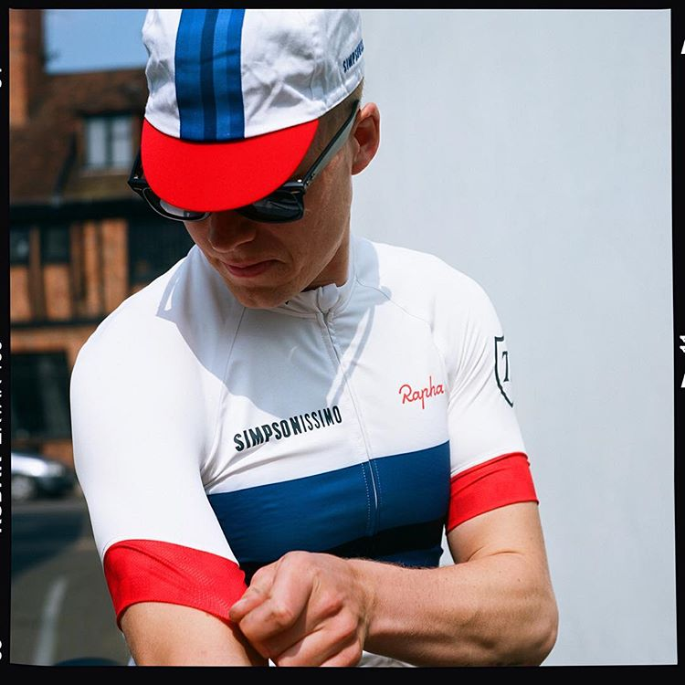 942954675 Contact +60174107120  Rapha Simpsonissimo Jersey (Ultralight)