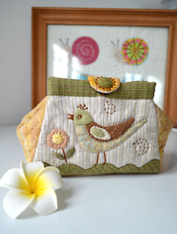 Folding Bag Tutorial. Patchwork and Quilting ~ DIY ...