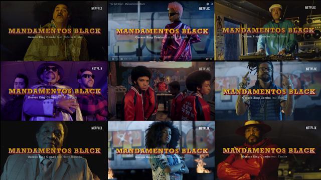"""Com nomes do rap e do movimento black brasileiro, a NETFLIX lança o trailer """"Mandamentos Black"""" da serie The Get Down"""