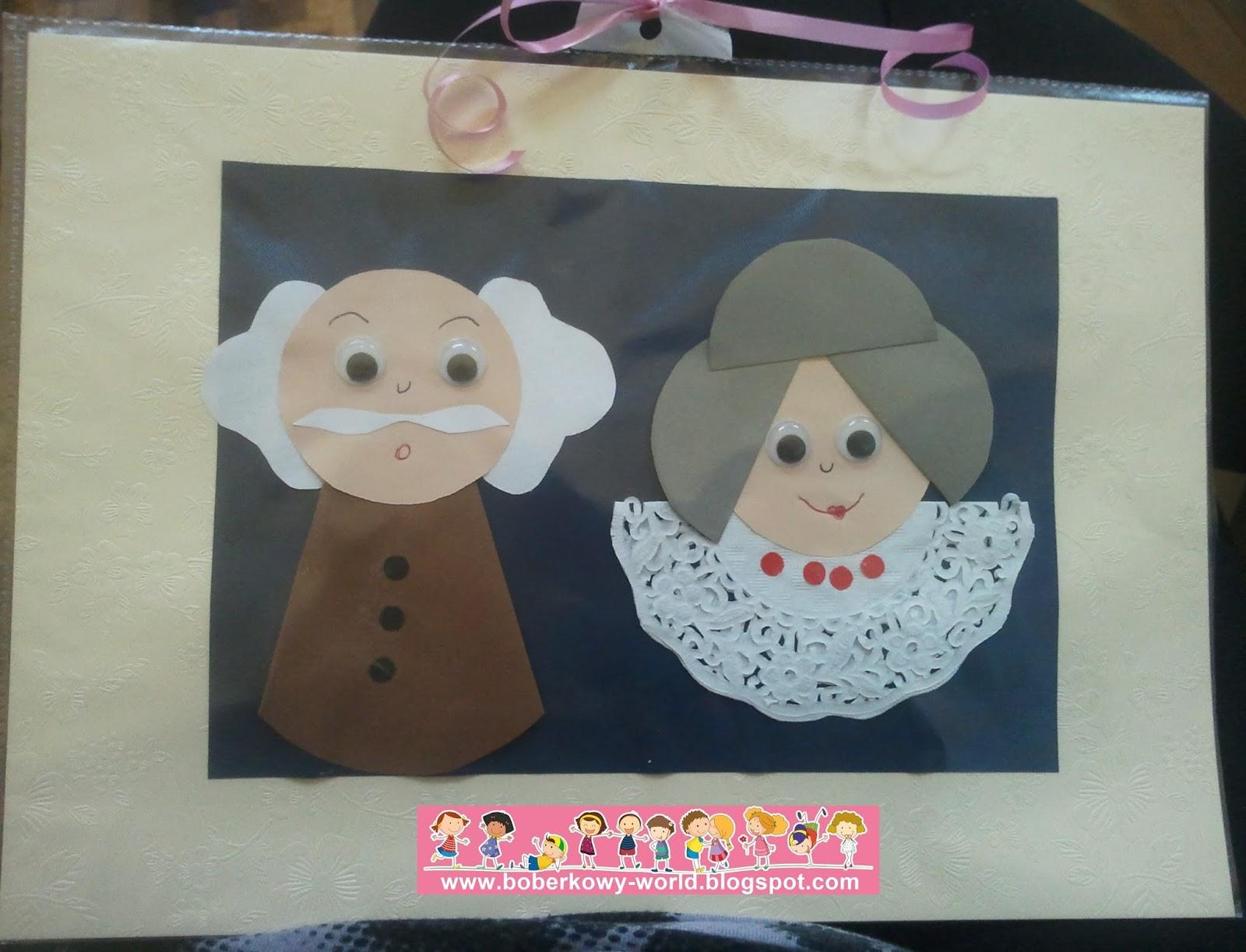 Как сделать открытку для дедушки с бабушкой