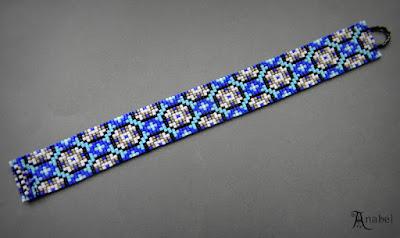 купить украшения из бисера Россия Симферополь анабель браслет на руку