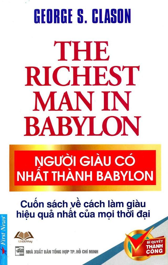 Người giàu có nhất thành Babylon Full Ebook