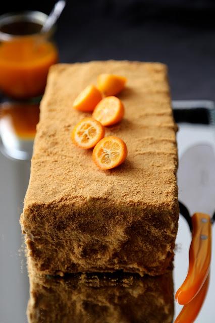 Medovik , cake au miel russe, noel , cuisine russe