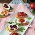 Bruschetta,Ziegenkäse-Crostini und feines Gelee - Fingerfood vom Feinsten