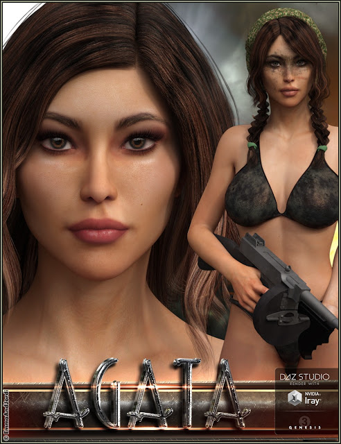 EJ Agata for Genesis 3 Female