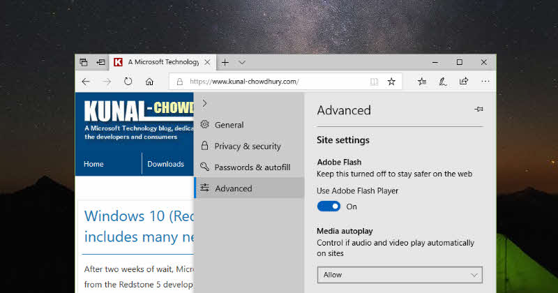 Here's how to stop videos from auto playing in Microsoft Edge
