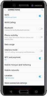 WiFi Calling Tutorial Nokia 6