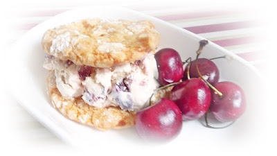 ice cream sandwich cookies biscuits fruit