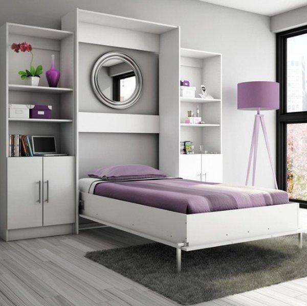 Mẫu giường độc đáo cho căn phòng ngủ nhỏ