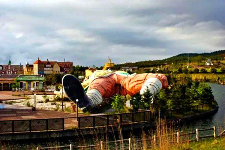 Gulliver's Kingdom parkı Gulliver'in gezileri ilham alınarak tasarlanmıştır.
