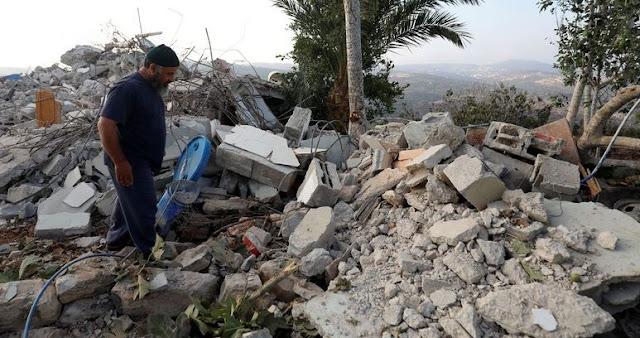 Israel Hancurkan Apartemen Keluarga Warga Palestina