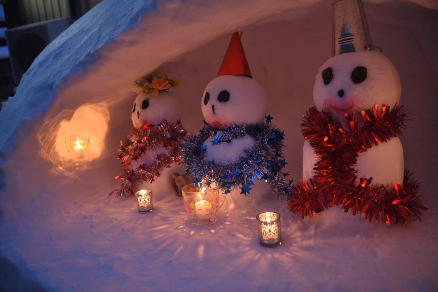 2018峰雪だるま祭り 2018