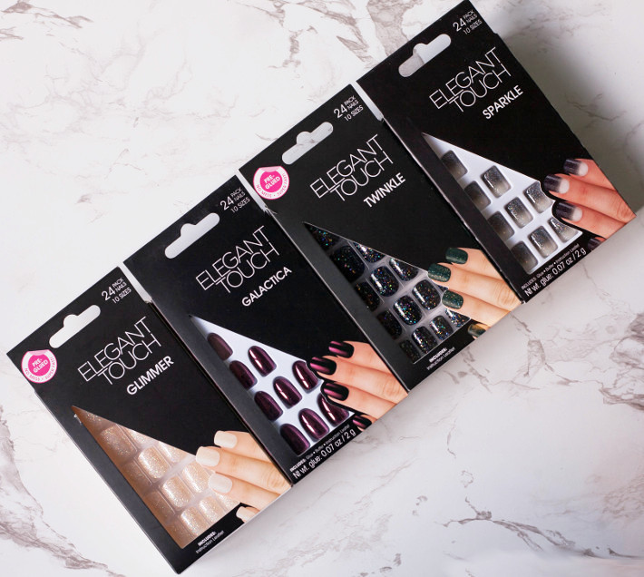 Beauty: Elegant Touch glue on and press on nail review