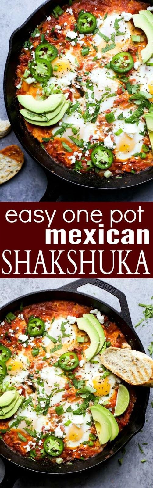 Easy One Pot Mexican Shakshuka
