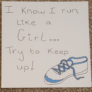 Runner Card LDS Young Women Gift Idea