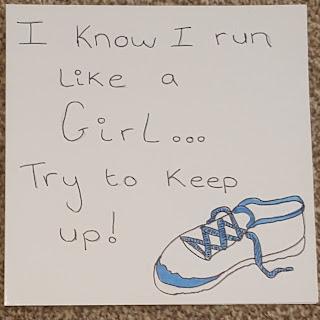 Runner Card LDS Young Women Gift Idea