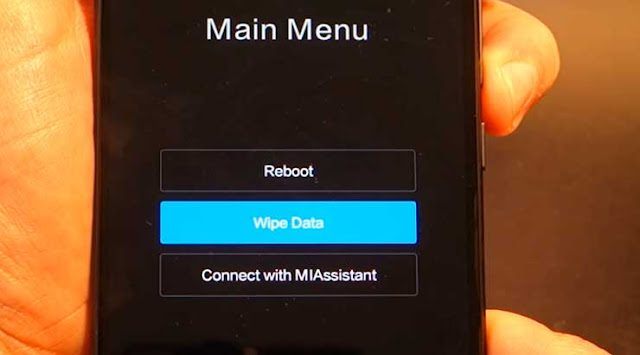 Restablecer de fabrica un Xiaomi Mi 5x