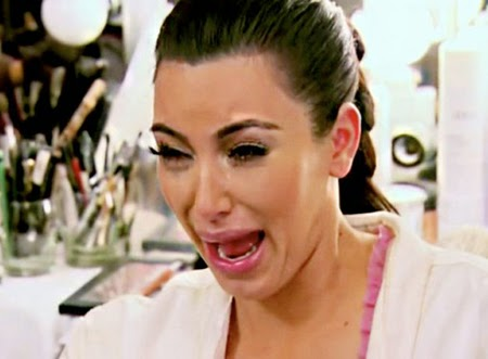 kim kardashian ugly crying
