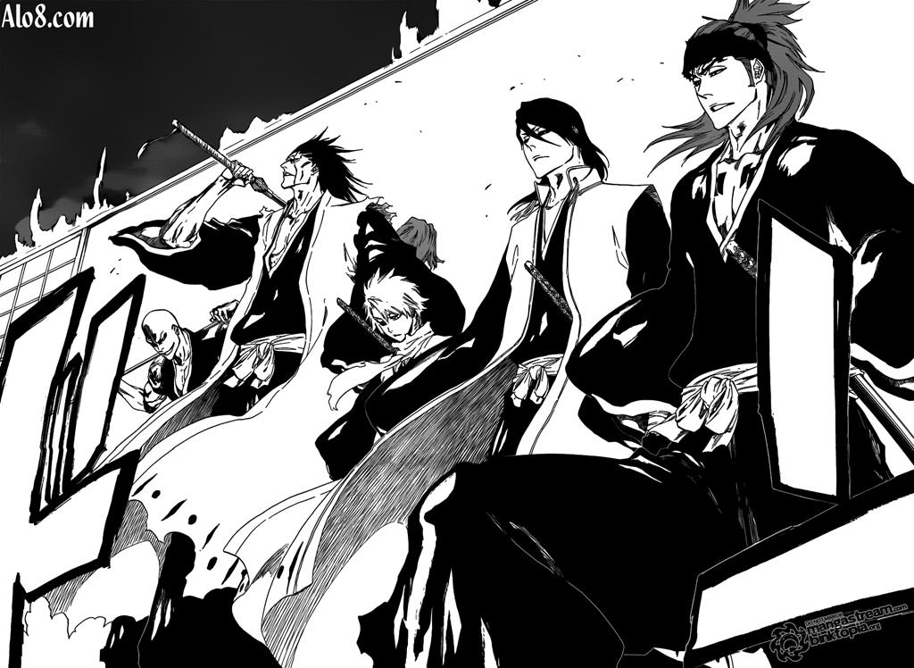 Bleach chapter 460 trang 9