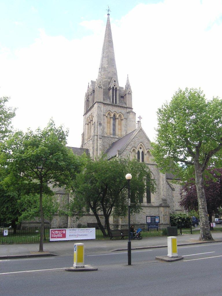Notting Hill London: ChurchCrawls: St John, Ladbroke Grove, Notting Hill, London