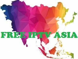 FREE IPTV  ASIA M3u List  TV HD Channels