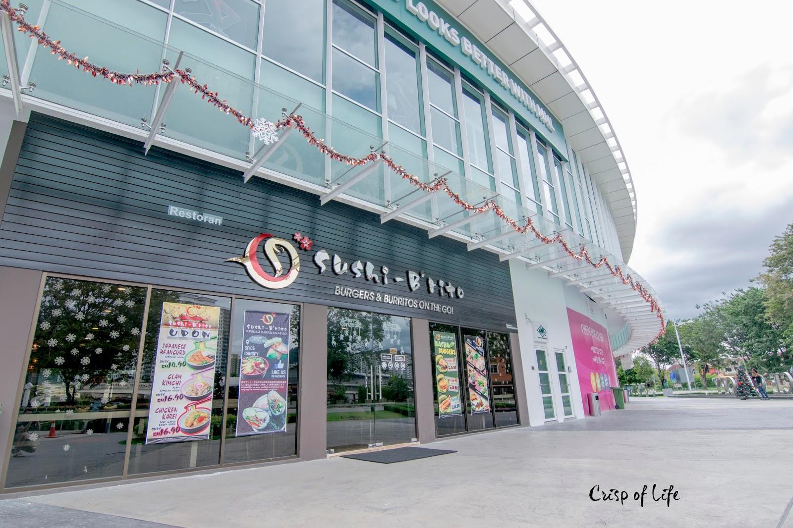 Sushi B'rito Setia SPICE Canopy Bayan Lepas Penang