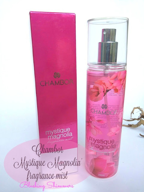 Chambor Mystique Magnolia Fragrance Mist
