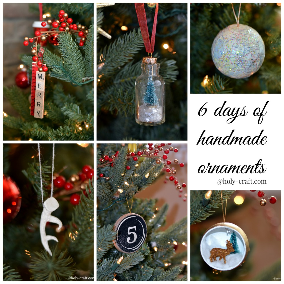 Christmas Diorama Ornaments.Deer And Christmas Tree Ornament Datfeata Blog Title
