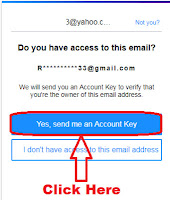 how to recover forgotten yahoo email password