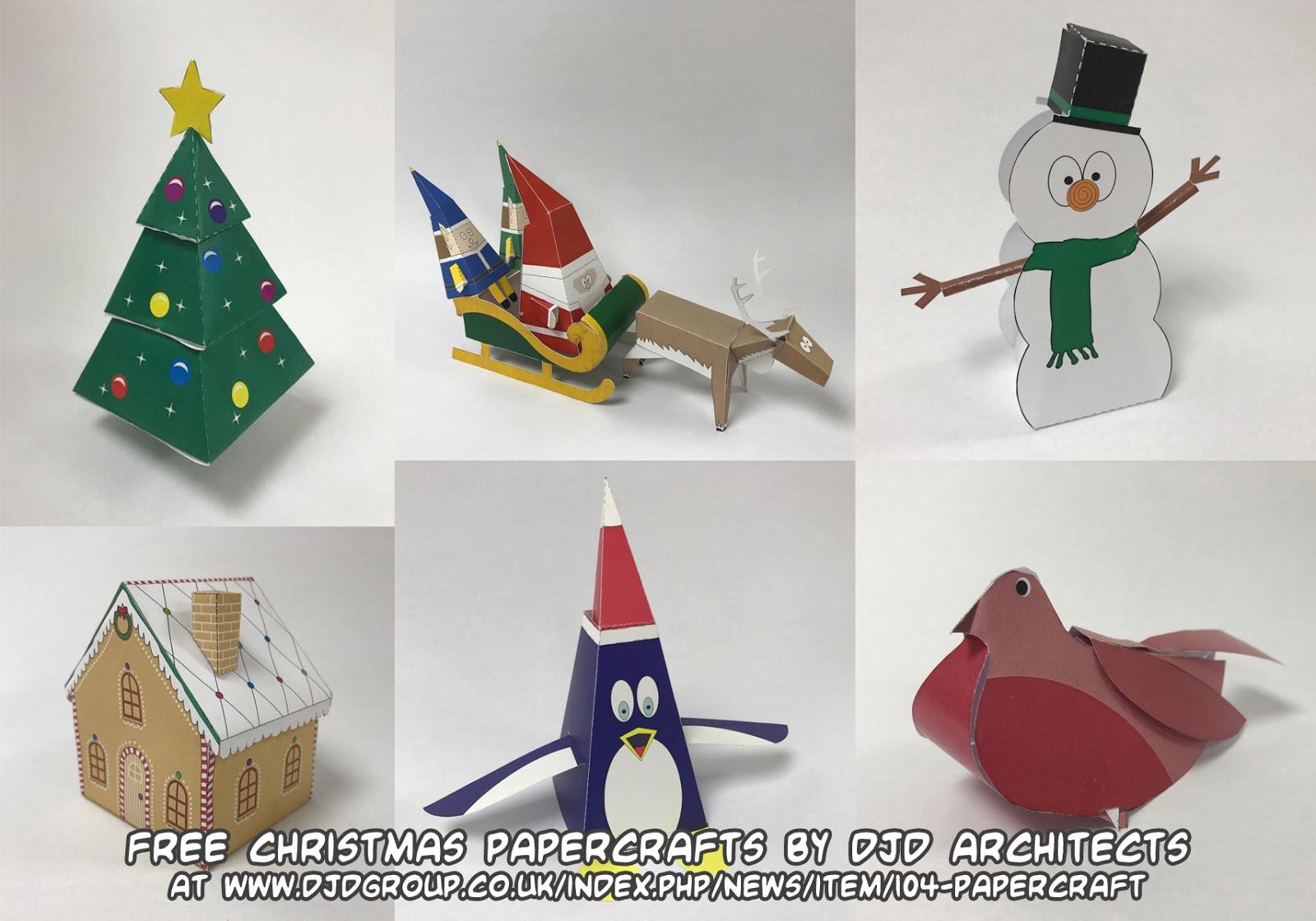 free christmas paper crafts ss42com - 1200×630