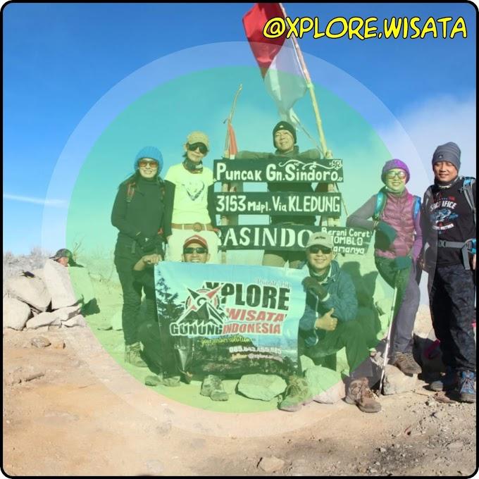 Trekking Gunung Sindoro - Senior Eksekutif