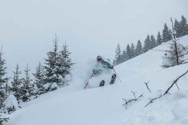 Freeride Kitz Skifahren Kitzbühel Tirol