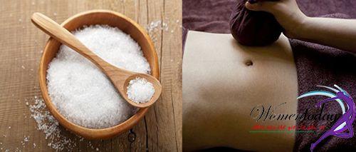 Muối hột rang nóng là cách giảm mỡ bụng đơn giản, hiệu quả từ dân gian
