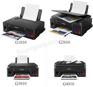 Terbaru Harga Printer Canon G1010, G2010, G3010, G4010 beserta spesifikasinya