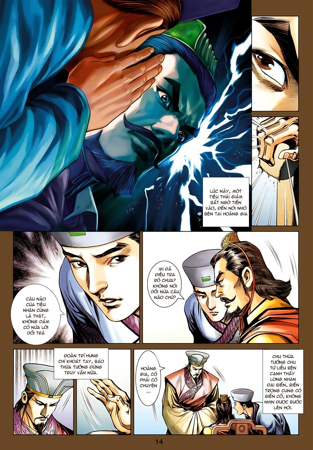 Anh Hùng Xạ Điêu anh hùng xạ đêu chap 77: thế thượng tối cường võ công trang 14