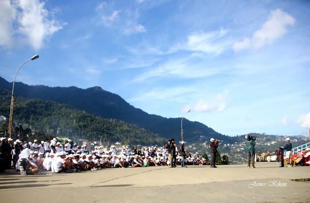 Police-Public Marathon organized by Nagaland Police Kohima Nagaland