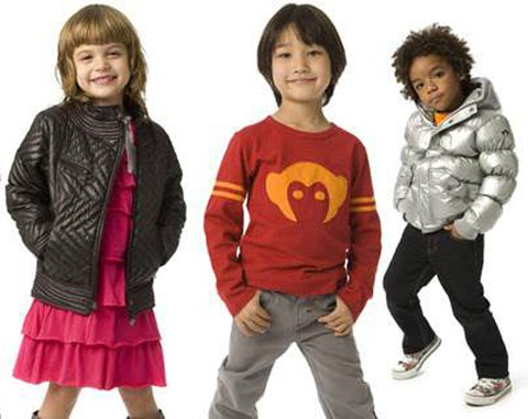 pakaian anak gaul