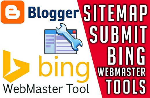 How to submit your blogger to Bing webmaster tools- submit URL to Bing