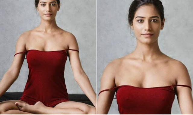 Poonam Pandey's picture on International Yoga Day has gone viral