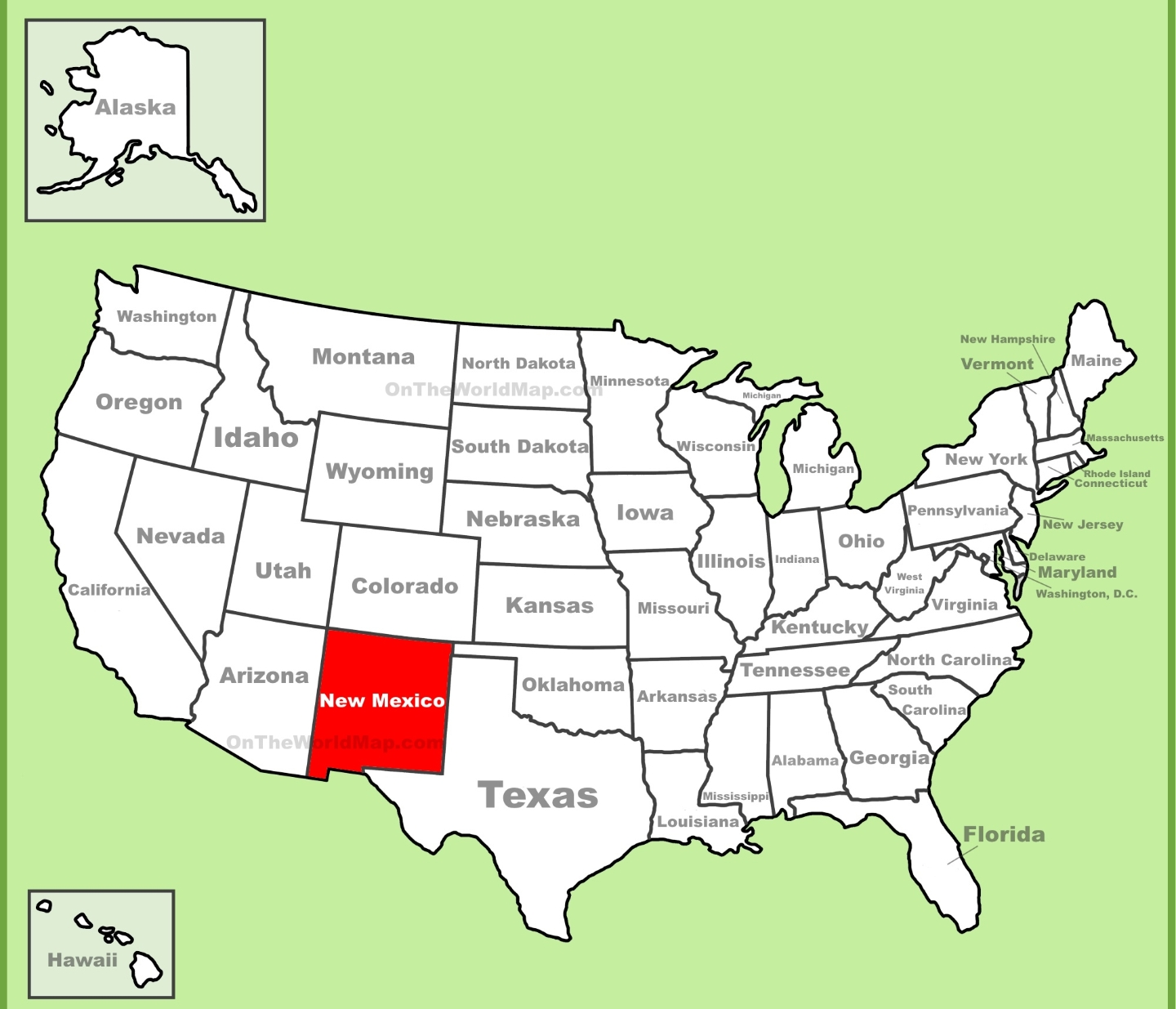 we are the only place in the united states to border 4 states at once you can visit the top left corner of my state and be in 4 places at once