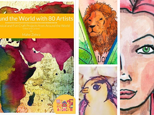 Around the World with 80 Artists Indiegogo