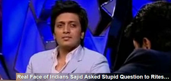Ritesh Deshmukh reply when Sajid khan asked are you Gay