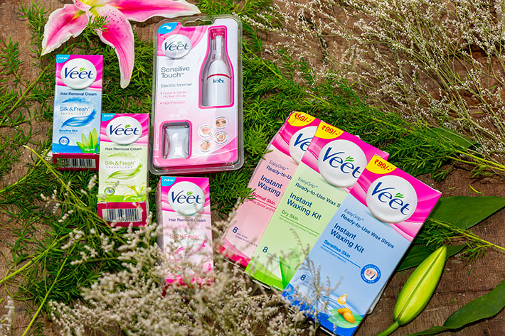 Veet Hair Removal Products Fuss Free And Quick Stylish By
