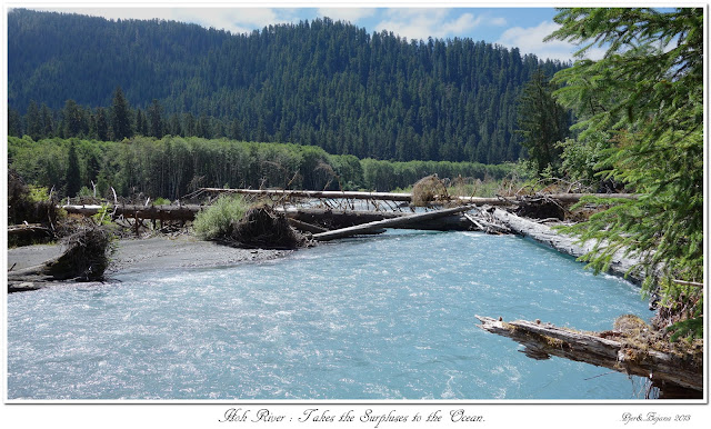 Hoh River: Takes the Surpluses to the Ocean