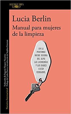 """Portada del libro """"Manual para mujeres de la limpieza"""""""