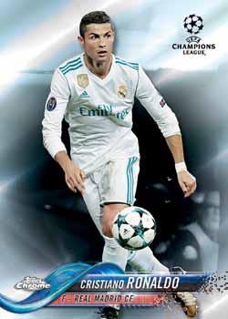 2017-18 Topps Chrome UEFA Champions League Future Stars #FS-AM Anthony Martial